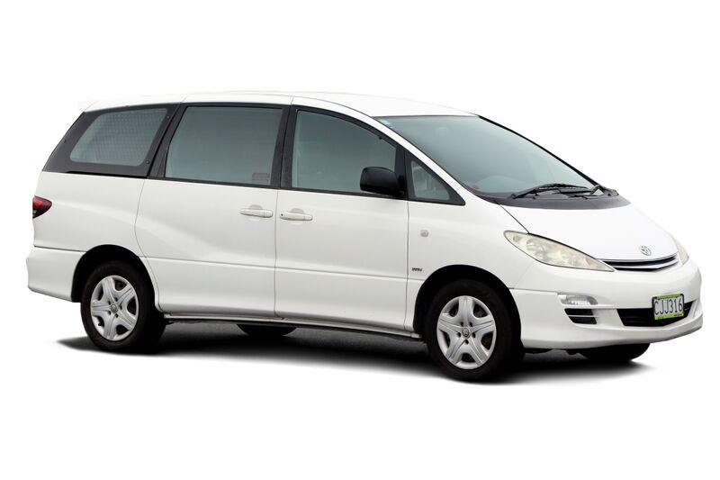 Toyota Estima 8 seater for hire