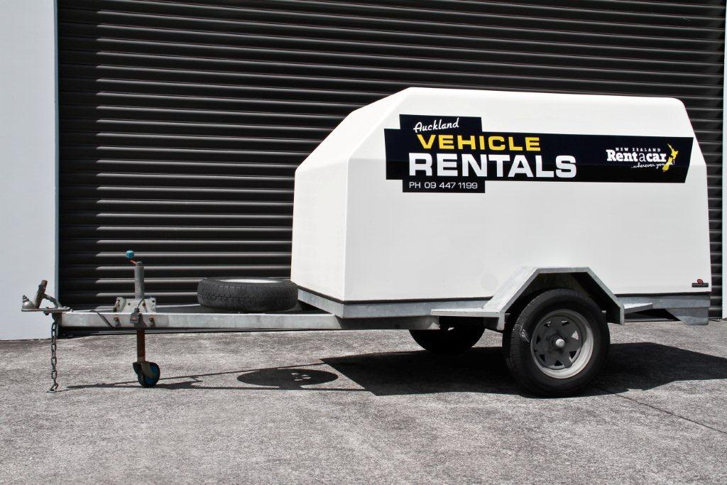 Luggage trailer for hire
